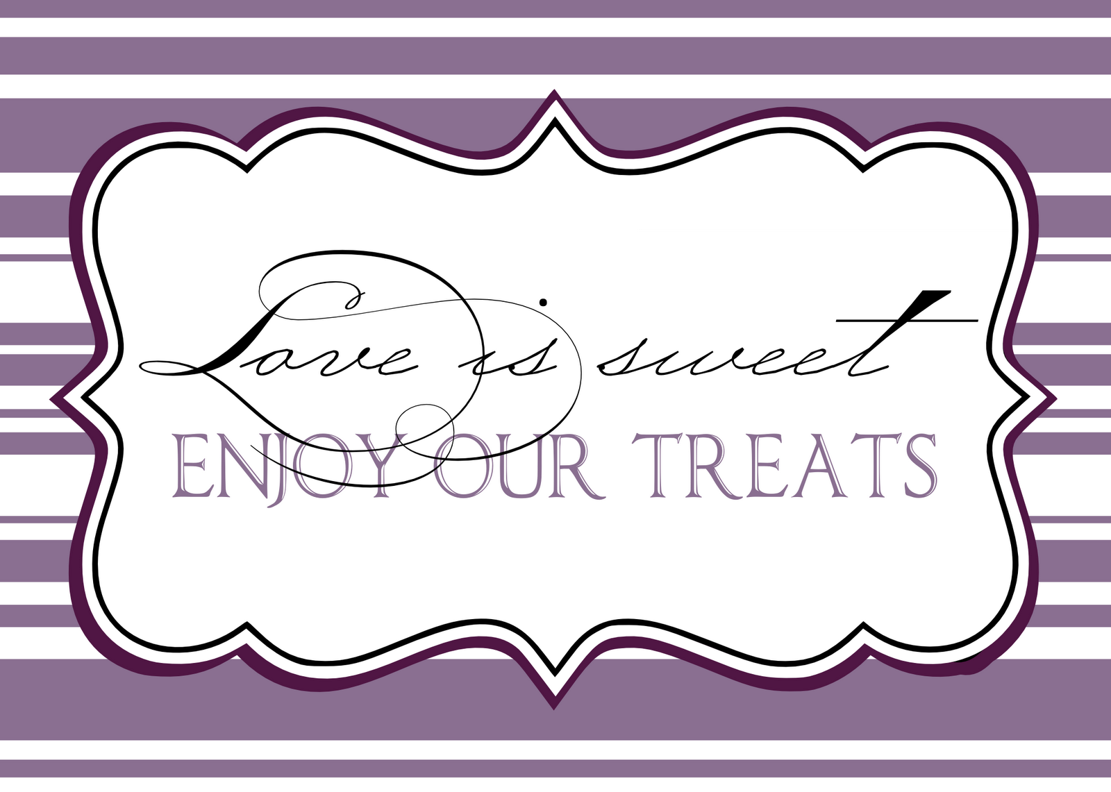 Pin Free Candy Buffet Labels Printable Cake On Pinterest ...