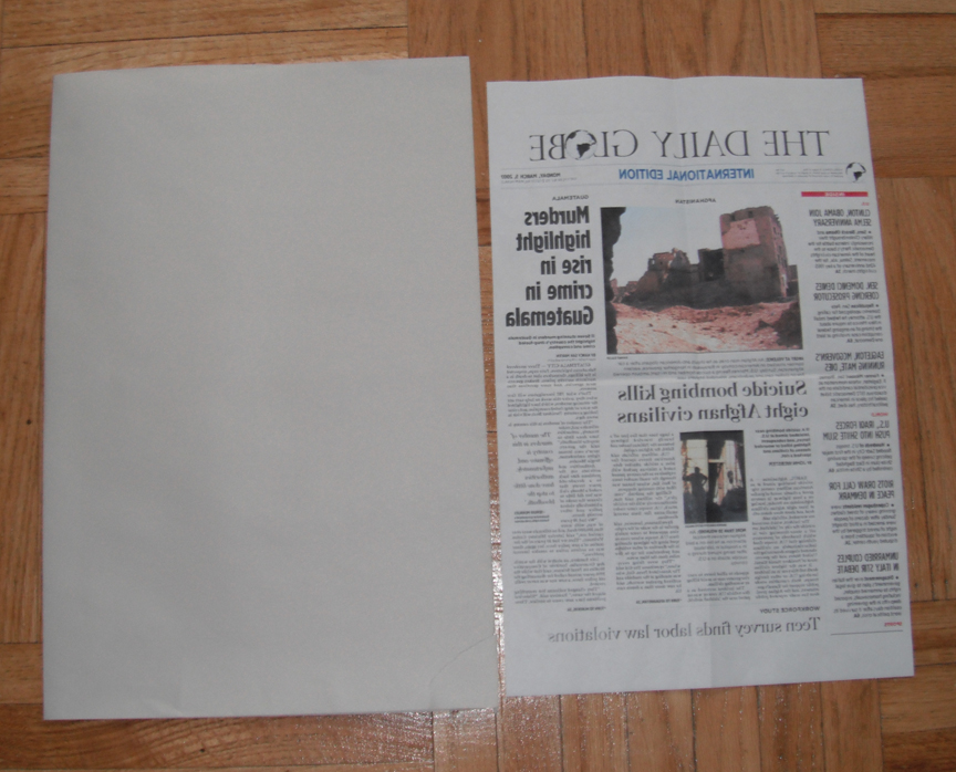 Create your own newspaper front page template full for Create your own newspaper template
