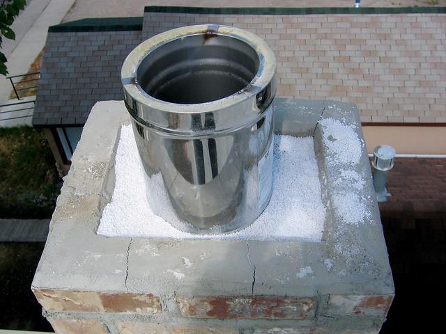 Теплоизоляция труб дымохода